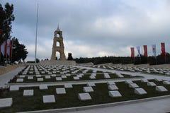Regemente 57 av kyrkogårdar och monumentet Royaltyfria Bilder