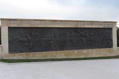 Regemente 57 av kyrkogårdar och monumentet Fotografering för Bildbyråer