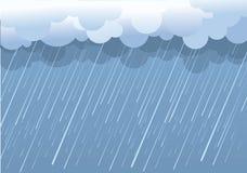 Regen. Royalty-vrije Stock Afbeeldingen