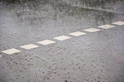 Regen. Stockfoto