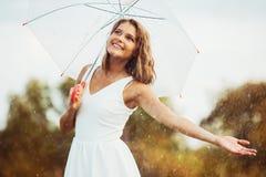Regen Stockfoto