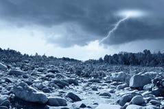 Regen ankommend Lizenzfreies Stockfoto