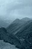 Regen auf dem natürlichen Park Lizenzfreie Stockfotografie