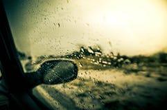 Regen auf Fenster Lizenzfreies Stockfoto