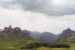 Regen bij rinocerospiek Royalty-vrije Stock Afbeelding