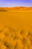 Regen in der Wüste Stockfotografie