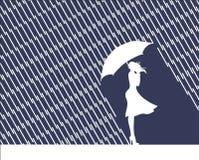 Regen en mening Stock Foto's