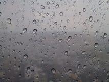 Regen fallen gelassen Lizenzfreie Stockfotografie