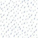 Regen, nahtloser Hintergrund Lizenzfreie Stockfotografie