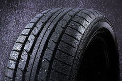 Regen-Reifen lizenzfreie stockfotos