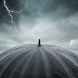 Regen und Gewitter Lizenzfreie Stockfotos