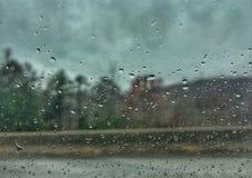 Regenachtig onweer Royalty-vrije Stock Foto