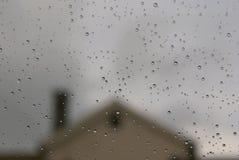 Regenachtig weer Stock Afbeelding