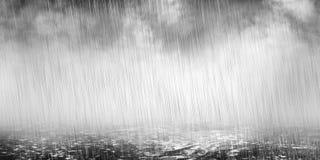 Regenachtig weer Stock Foto's