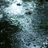 Regenachtig weer Stock Foto