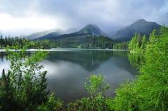 Regenachtige bergen Royalty-vrije Stock Afbeeldingen