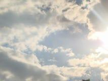 Regenachtige Cumulonimbus Wolken stock foto