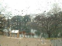 Regenachtige dag Stock Foto's