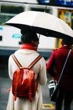Regenachtige dag bij de Post van de de Vindersstraat van Melbourne Royalty-vrije Stock Fotografie