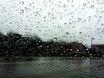 Regenachtige dagen Stock Foto's