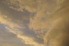 Regenachtige wolken Stock Afbeeldingen