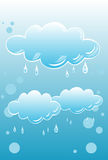Regenachtige Wolken Royalty-vrije Stock Foto
