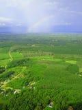 Regenbogen über Krabi, Thailand Stockbild