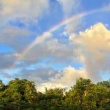 Regenbogen über Mexiko Stockbild