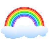 Regenbogen. stock abbildung
