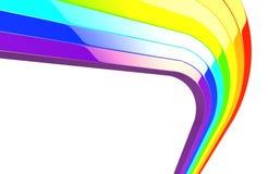 Regenbogen 3d Lizenzfreies Stockfoto
