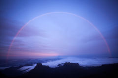 Regenbogen an Adams Spitze Lizenzfreie Stockbilder