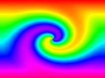 Regenbogen-Anschluss lizenzfreie abbildung