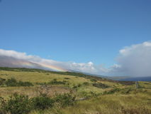 Regenbogen auf dem Berg Lizenzfreies Stockbild