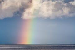 Regenbogen auf dem Wasser Stockbilder