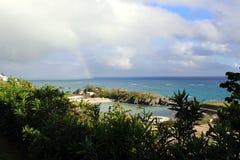 Regenbogen in Bermuda Stockfotografie
