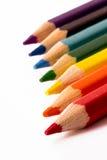 Regenbogen-Bleistifte Lizenzfreies Stockfoto