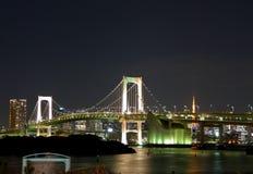 Regenbogen-Brücke Stockfotos