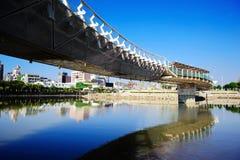 Regenbogen-Brücke Stockbild