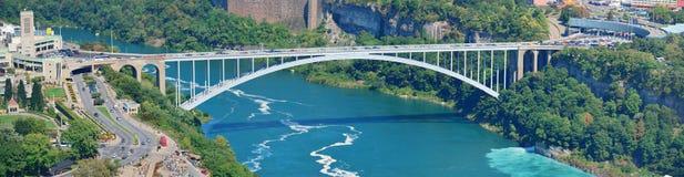 Regenbogen-Brücke Lizenzfreies Stockbild