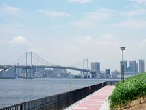 Regenbogen-Brücke in Japan  stockbild