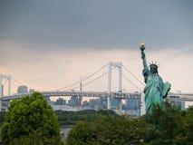 Regenbogen-Brücke, Tokyo, Japan Stockbild