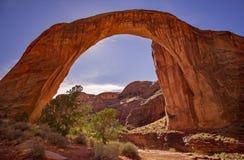 Regenbogen-Brücken-Nationaldenkmal, Utah Stockfotos