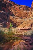 Regenbogen-Brücken-Nationaldenkmal, Utah Lizenzfreie Stockfotos