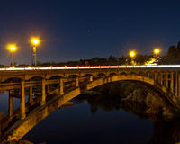Regenbogen-Brücke Stockfotografie