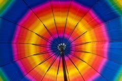 Regenbogen buntes ubrella nach innen Stockbild