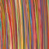 Regenbogen der abstrakten Kunst streift bunten Hintergrund Stockfoto
