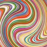 Regenbogen der abstrakten Kunst streift bunten Hintergrund Lizenzfreie Stockbilder