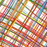 Regenbogen der abstrakten Kunst streift bunten Hintergrund Lizenzfreies Stockbild