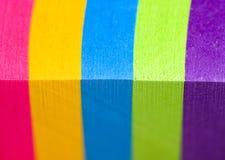 Regenbogen der Farbe Stockbilder