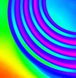 Regenbogen der Farbe Stockfotografie